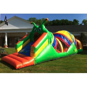 Caterpillar Inflatable Obstacle Course