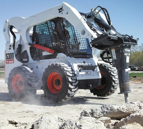 Bobcat Paving Breaker