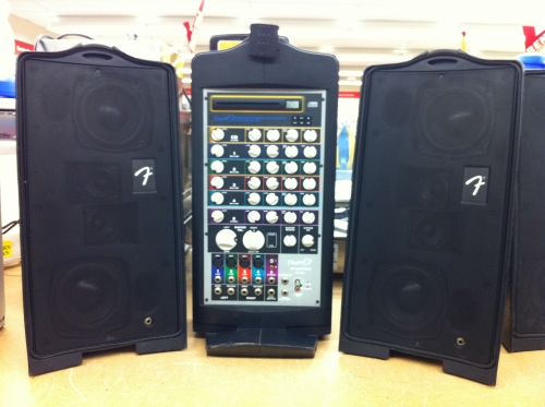 Fender P.A. system