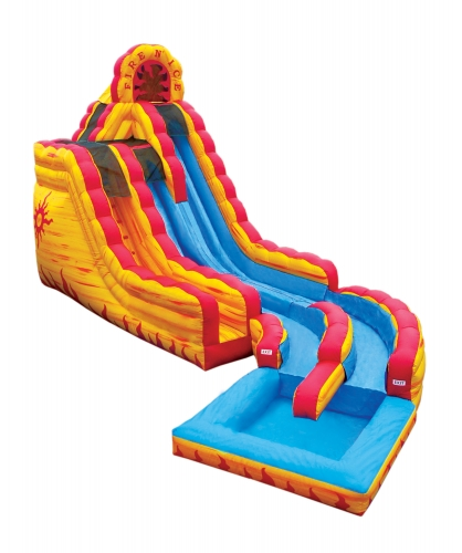 Fire and Ice Slide, Inflatable Bounce House