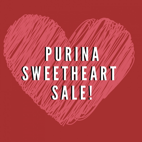 Purina Sweetheart Sale!