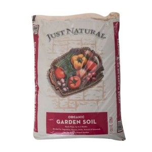 Just Natural Organic Garden Soil