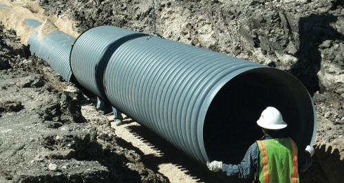 Smooth Wall Corrugated Pipe