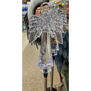 Memorial Day Solar Powered Angel Stake