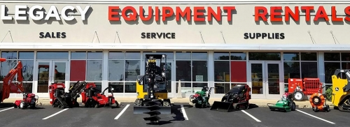Welcome to Legacy Equipment Rentals