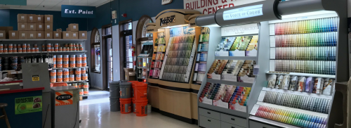 Visit our Paint Center Today