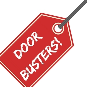 November Door Buster Sales Flyer