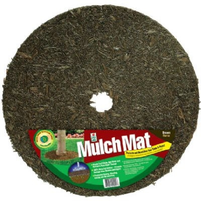 Rubber Mulch Mat Tree Ring, 24-In.
