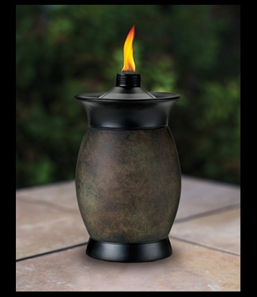 Tiki Torch 4-In-1 Stone