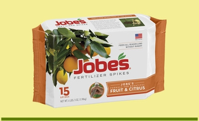 Jobe's Fruit & Citrus Fertilizer Spikes