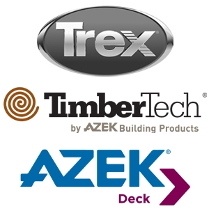 Decking-Trex, Timber Tech & AZEK