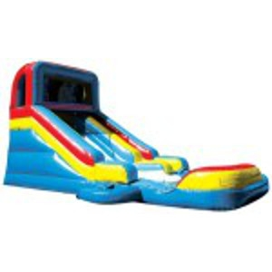 Slide-n-Splash with Pool Bouncer