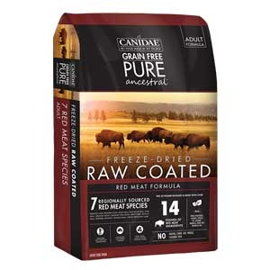 Canidae® Grain Free Pure Ancestral™ Freeze-Dried Raw Coated Red Meat Formula