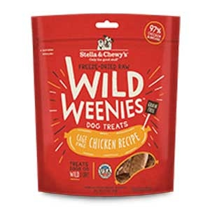 Stella & Chewy's Freeze Dried Raw Wild Weenies - Chicken Treats