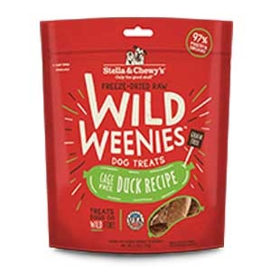 Stella & Chewy's Freeze-Dried Raw Wild Weenies - Duck Treats