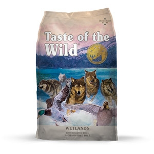 Taste of the Wild® Wetlands Canine Recipe