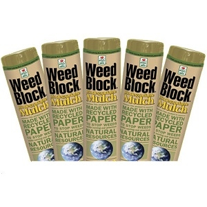 WeedBlock® Biodegradable Mulch 3' x 50'