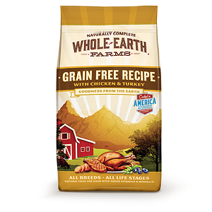 Naturally Complete Whole Farms GF Recipe with Chicken & Turkey for Dogs 25lb