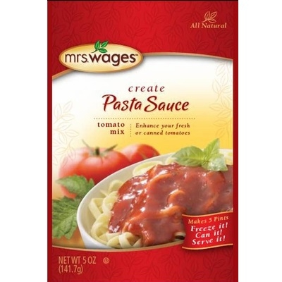 Mrs. Wages® Pasta Sauce Tomato Mix 5oz