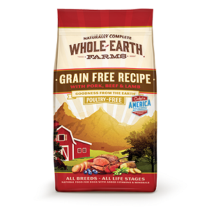Naturally Complete Whole Farms GF Recipe with Pork, Beef & Lamb for Dogs 25lb