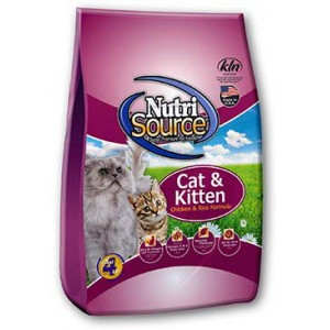 NutriSource Cat & Kitten Chicken & Rice Formula 6.6lb