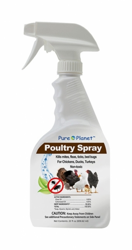 Pure Planet Poultry Spray 22 fl. oz.