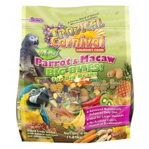 Tropical Carnival Parrot & Macaw Food 4 lb.