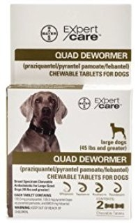 Quad Dewormer (45 lbs and greater)