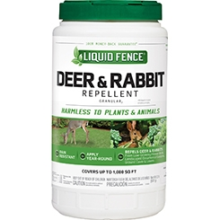 Liquid Fence Deer & Rabbit Repellent Granular 2lb