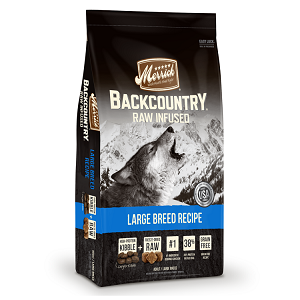 Merrick Backcountry Raw Infused Large Breed Recipe for Dogs 22lb