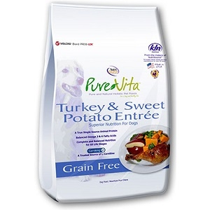 Pure Vita Turkey & Sweet Potato Entrée 25lb