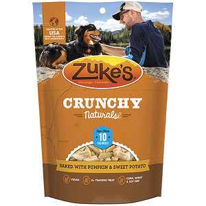 Zuke's Crunchy Naturals Baked with Pumpkin and Sweet Potato Dog Treats 12oz