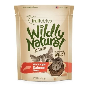 Fruitables Wildly Natural Cat Treats Salmon Flavor 2.5oz