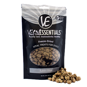 Vital Essentials Freeze-Dried Rabbit Bites 2.0 oz