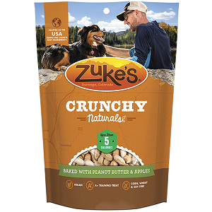 Zuke's Crunchy Naturals Peanut Butter & Apples 12oz