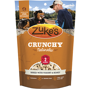 Zuke's Crunchy Naturals Yogurt & Honey 9oz