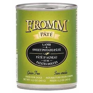 Fromm Lamb & Sweet Potato Pate Gain Free Canned Dog Food 12.2oz