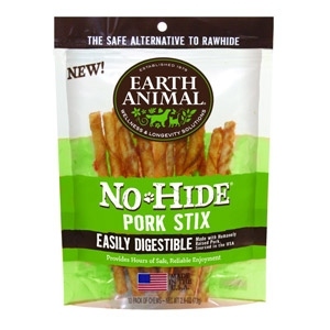 Earth Animal® No-Hide Pork Stix 3 oz.