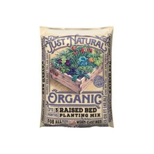 Just Natural Organic Raised Bed Planting Mix 1.5 Cu. Ft.