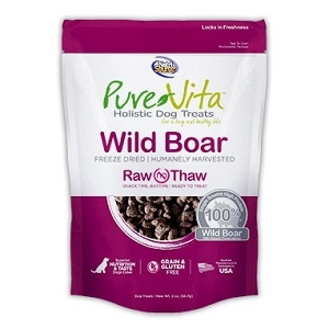 PureVita Wild Boar Freeze Dried Raw Treats 2 oz.