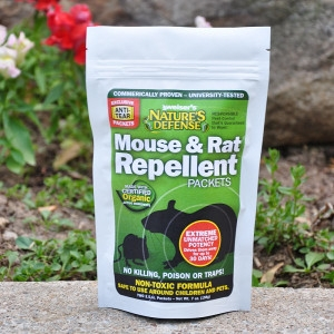 Nature's Defense Mouse & Rat Repellent Packets 7 oz.