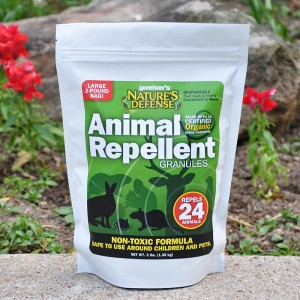 Nature's Defense All-Purpose Animal Repellent Granules 3 lb.