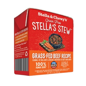 Stella & Chewy's Stews Grass-Fed Beef Recipe 11 Oz.
