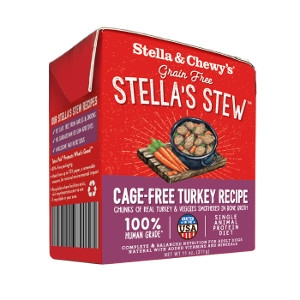 Stella & Chewy's Stews Cage-Free Turkey Recipe 11 Oz.