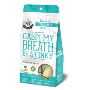 The Granville Island Pet Treatery Gasp! My Breath is Stinky! Dog Treats 8.47 Oz.