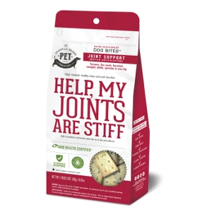 The Granville Island Pet Treatery Help, My Joints Are Stiff Dog Treats 8.47 Oz.