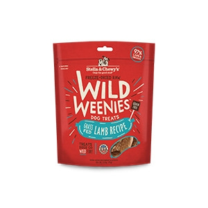 Stella & Chewy's Freeze Dried Raw Wild Weenies- Lamb 3.25oz