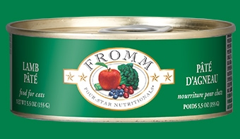 Fromm Four Star Lamb Pâté Canned Cat Food 5.5 oz.