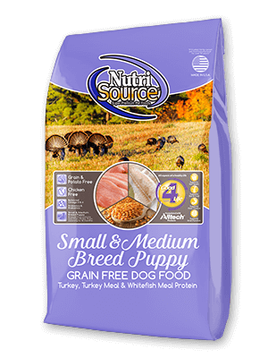 Nutrisource Small and Medium Breed Grain Free Puppy Food