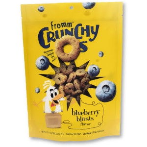 Fromm Crunchy O's Blueberry Blasts 6 oz.